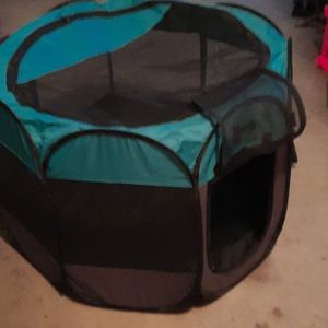 Ruff n Ruffus portable pet playpen